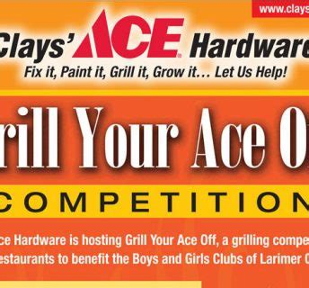 clays ace hardware sold clays ace hardware grill your ace off event archives ace