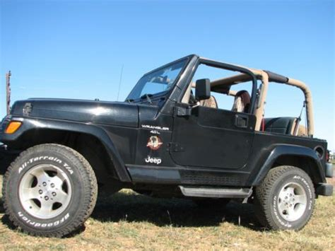 2000 Jeep Wrangler Soft Top Find Used 2000 Jeep Wrangler Soft Tops Western