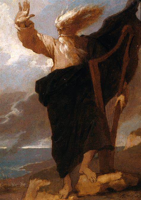 The Bard the bard benjamin west wikiart org encyclopedia of