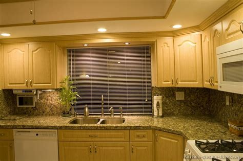 Light Wood Kitchen Cabinets Pictures Of Kitchens Traditional Light Wood Kitchen Cabinets Kitchen 20
