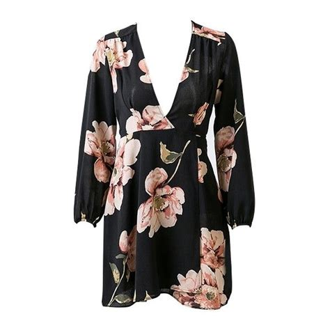 Who Wore It Better Luella Floral Mini Dress by Better Late Than Never Black Pink Green Floral Sleeve