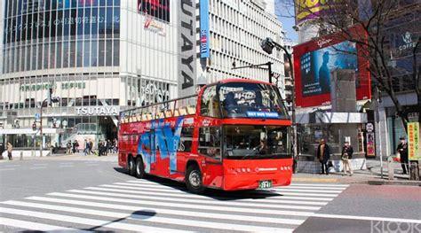 hop  hop  tokyo sightseeing bus pass klook
