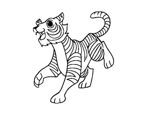 coloring page bengal tiger bengal tigers colouring pages