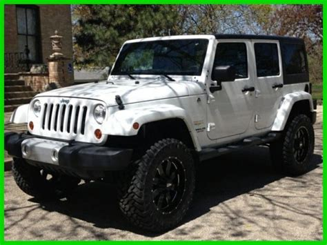 white jeep black rims lifted white jeep wrangler unlimited black rims www imgkid com