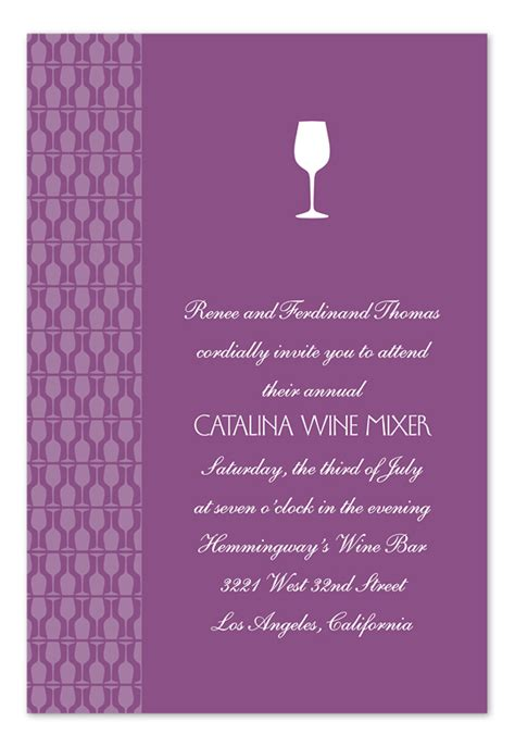 wine tasting party invitations by invitation consultants