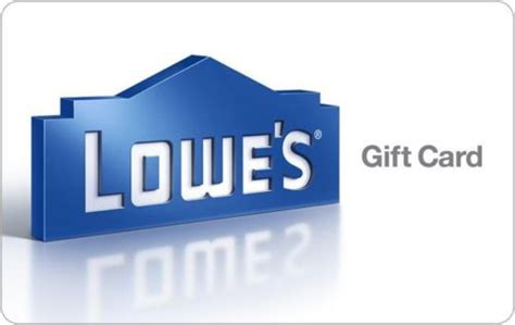 Lowes Printable Gift Cards - 200 lowe s gift card for just 175
