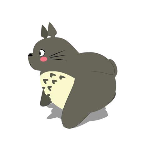 imagenes animales haciendo ejercicio adorables gifs ilustrados de totoro haciendo ejercicio por