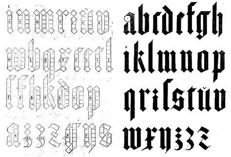 alfabeto gotico lettere imagenes alfabeto gotico imagui