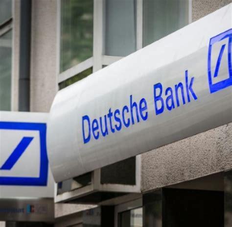 Arbeit Deutsche Bank Streicht In Deutschland Zun 228 Chst