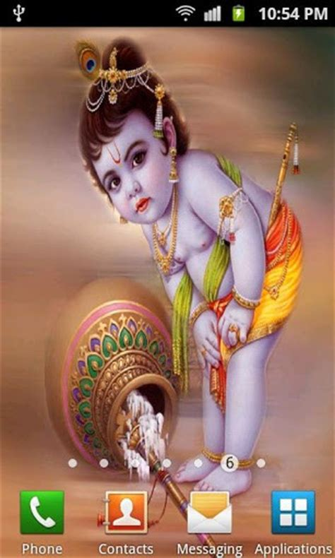 krishna animation themes download baby krishna live wallpaper for android by best