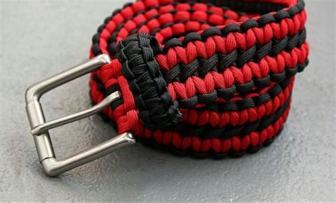 diy paracord belt patterns tutorials  instructions