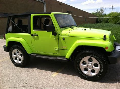 2013 Jeep Wrangler Two Door by Sell New 2013 Jeep Wrangler 2 Door Suv In Chicago