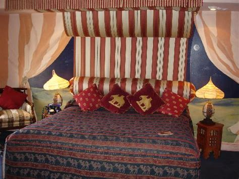 arabian nights suite at the alton towers hotel