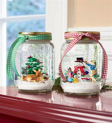 diy decorations snow globe 25 cool diy jar concepts decorazilla
