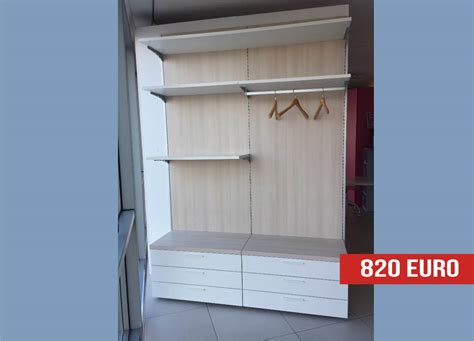 cabina armadio offerta arredo per cabina armadio in offerta outlet