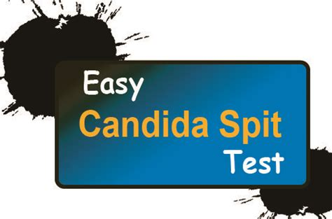 spit test candida spit test health cleanse and easy