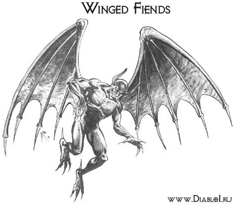 winged fiend diablo wiki fandom powered by wikia