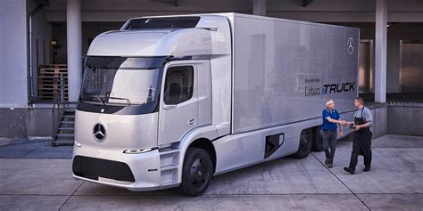 electric truck tesla semi will face stiff competition from mercedes benz