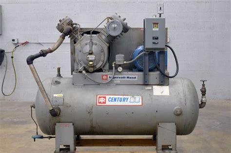 ingersoll rand century ii air compressor boggs equipment