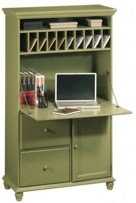 tall secretary desk with hutch tall secretary desk in green harwick decor pinterest