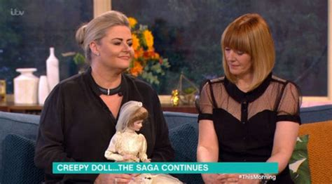 haunted doll ruth this morning s alison hammond nearly kills cameraman as
