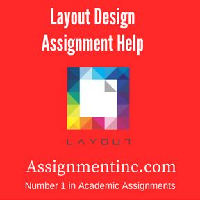 layout design help layout design assignment help and homework help