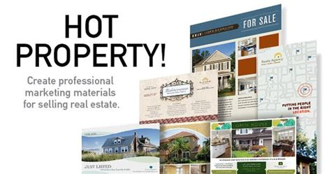Real Estate Flyers Postcards To Sell Your Property Stocklayouts Blog Marketing Material Templates