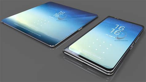 x samsung mobile samsung galaxy x gets competent and realistic render shows foldable design concept phones