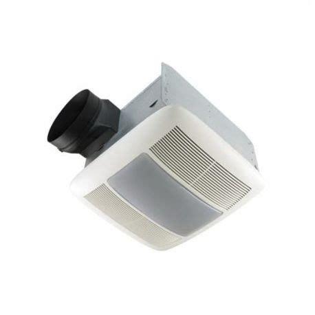 nutone fan light combo nutone 174 qtxen080flt ventilation fan light combo with white