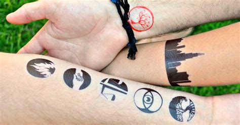 tattoo make at home how to make temporary tattoos for divergent the love nerds