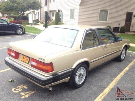 1988 volvo 780 bertone coupe 1 owner garage kept