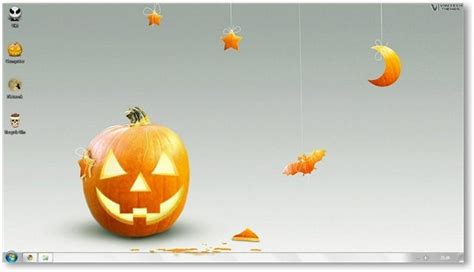 win 7 halloween themes windows 7 halloween theme holiday themes