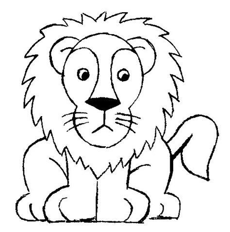 imagenes de leones animados para colorear dibujos para pintar el le 243 n ilustracions 4eso