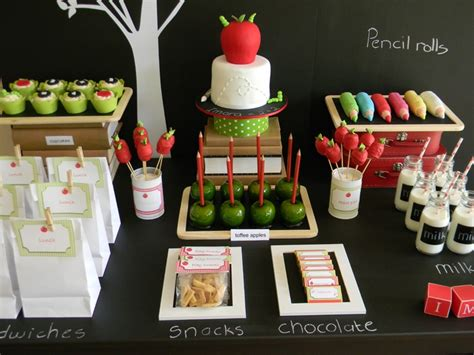 themes for college birthday parties play back to school party ideas