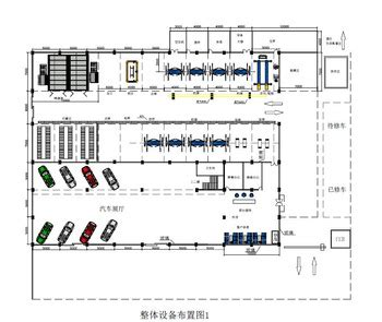 layout of car workshop 3 auto workshop design sles and equipment installation