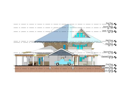 Small Section small house section section 1 axis n s