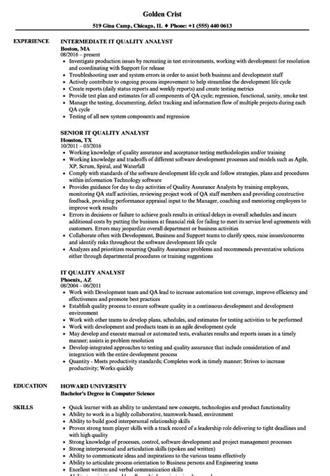 cv format for quality analyst lovely resume quality analyst photos resume ideas