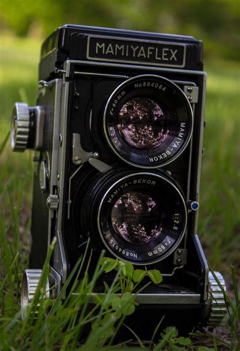 close  photography  vintage camera  stock photo