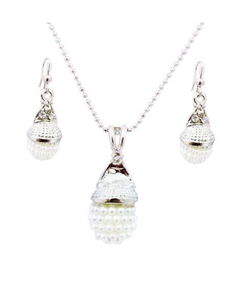 Arum Set arum silver pendant set buy arum silver pendant set in india on snapdeal