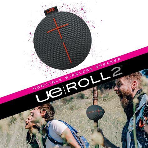 Tyes Roll 2 Waterproof Wireless Portable Bluetooth Speaker ue roll 2 volcano wireless portable bluetooth speaker
