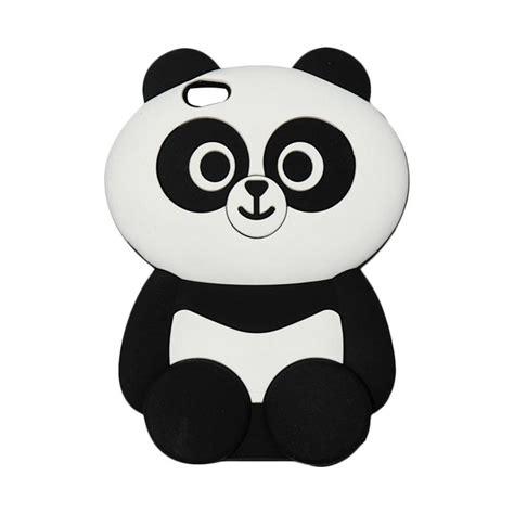 jual qcf silikon  animasi panda softcase casing  vivo