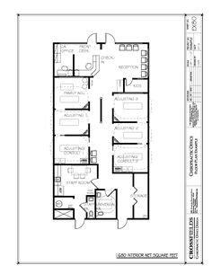 chiropractic office condo suite floorplan with sle floor plan with ionization reflexology