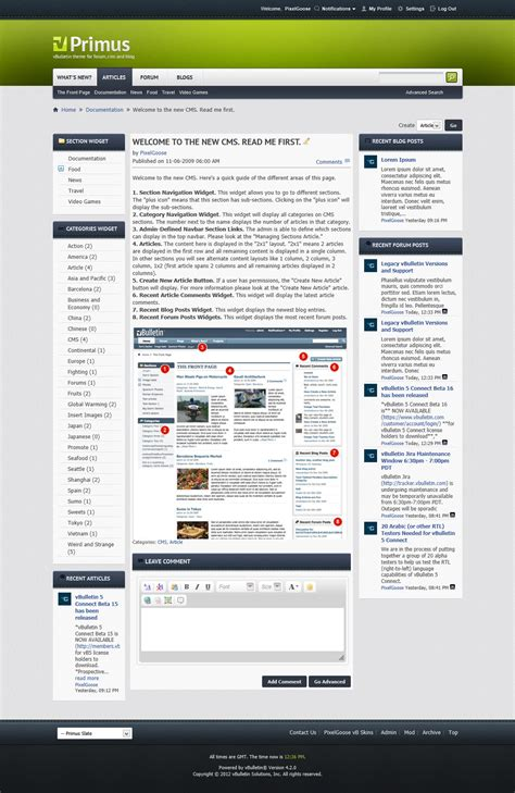 themeforest vbulletin primus a theme for vbulletin 4 2 suite by pixelgoose