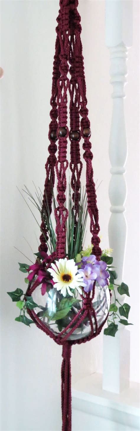 Macrame Flower Pot Hangers - the world s catalog of ideas