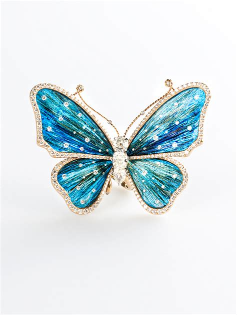 Butterfly Gold gold butterfly ring by busatti opera italian attitude