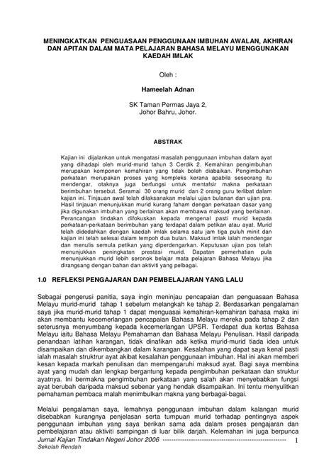 format penulisan proposal kajian tindakan liran kajian tindakan