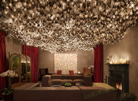 hotel light installation gramercy terrace at the gramercy park hotel nyc rooftop weddings and events