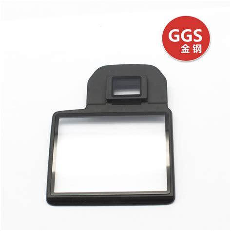 anti film ggs ggs iii glass lcd screen protector for canon 5dii