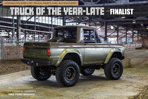 bronco car 1966 ford bronco truck of the year late finalist