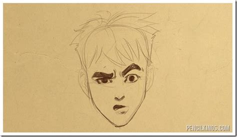 adding expression how to draw eyebrows step by step drawing a confused face without the confusion
